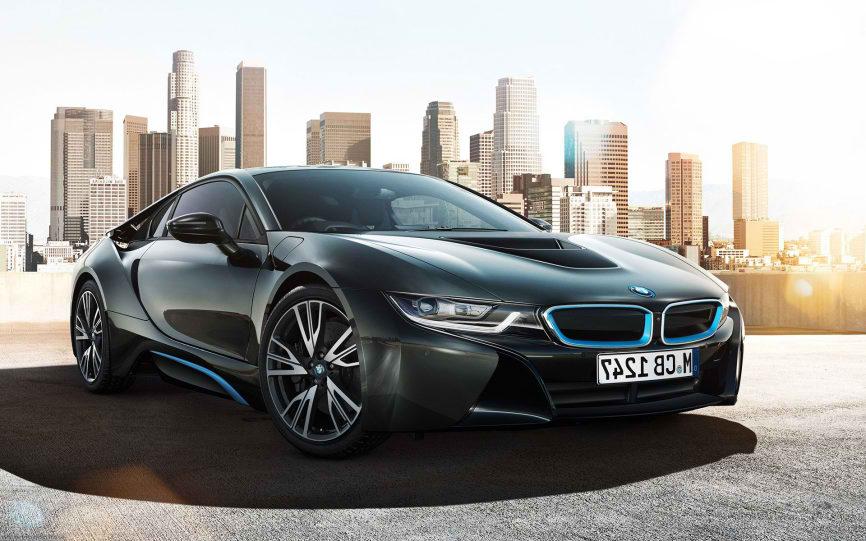 دانلود مدل سه بعدی BMW-i8