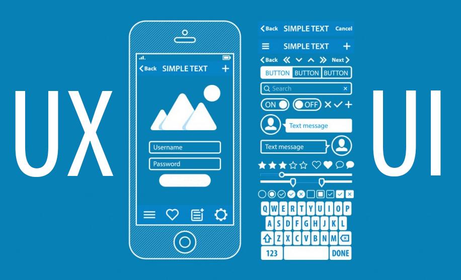 آشنایی با UI و UX در طراحی وب سایت