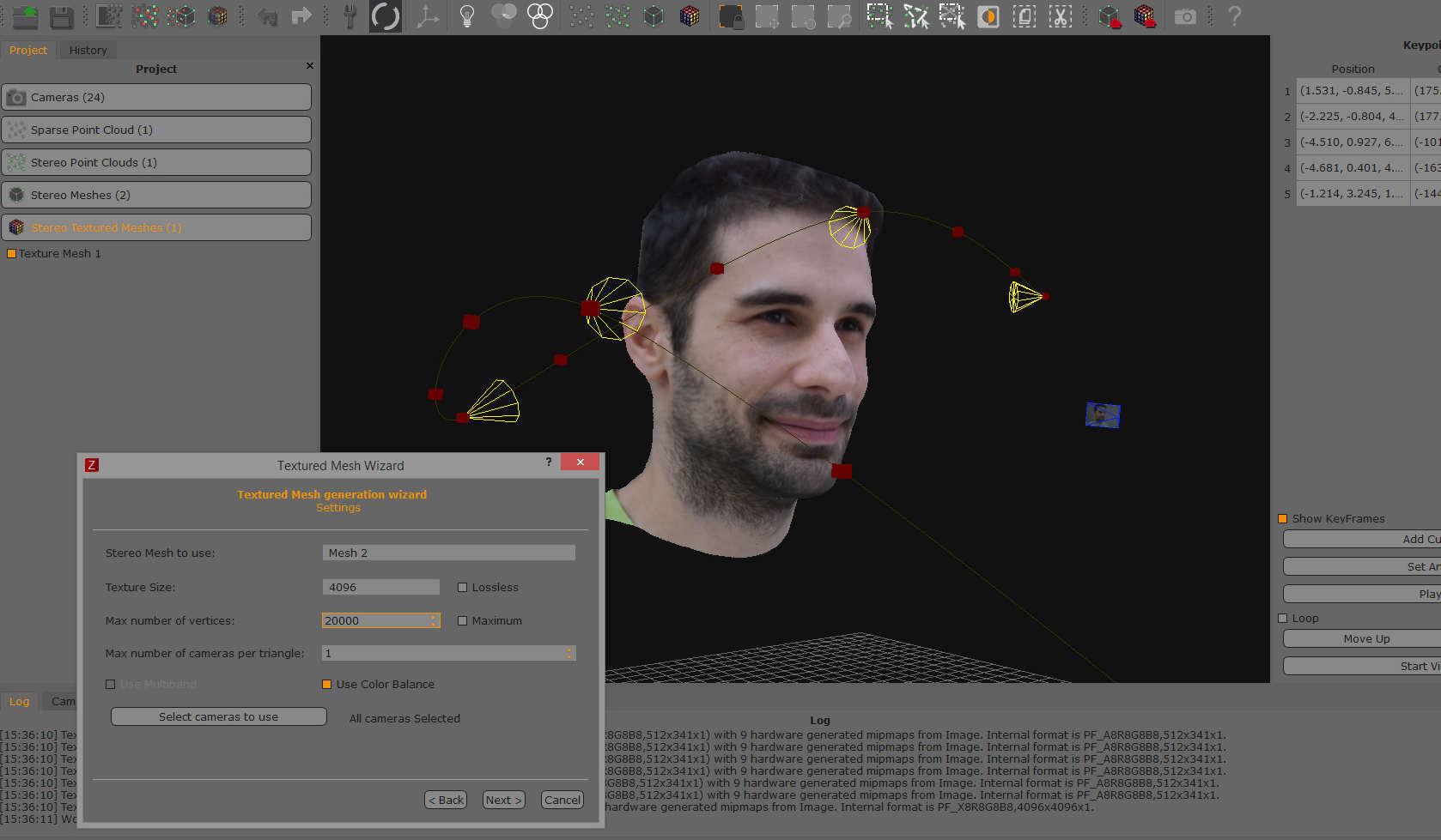 تبدیل عکس به مدل سه بعدی با 3DF ZEPHYR