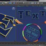 آموزش ابزار جدید TextPlus در تریدی اس مکس
