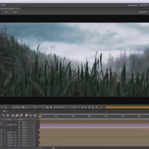 تبدیل تصاویر دو بعدی به یک شات سینمایی در افترافکت