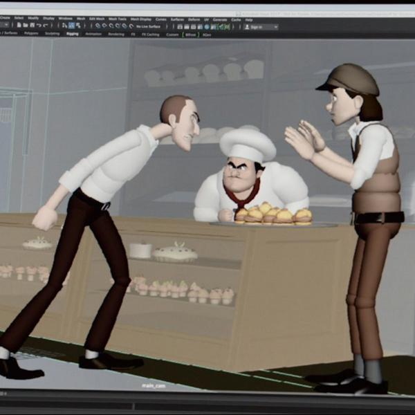 آموزش ژست در انیمیشن