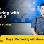 آموزش رندر با آرنولد 5 در نرم افزار مایا