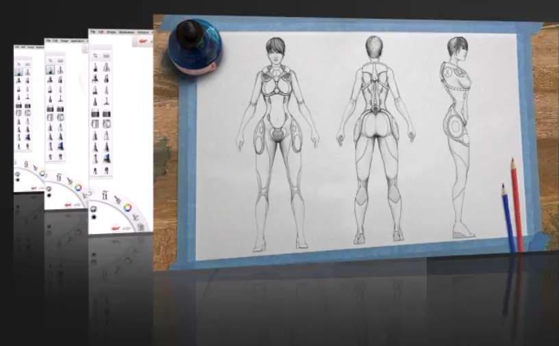 آموزش Autodesk SketchBook Pro