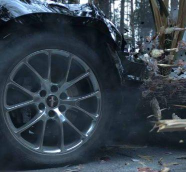 شبیه سازی تصادف خودرو و درخت در تریدی اس مکس