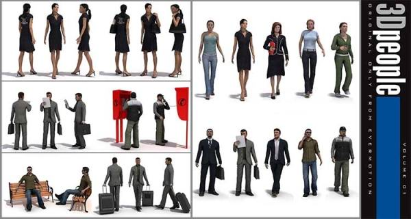 Evermotion-3D-People-V.1
