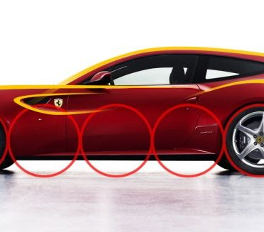 کانسپت Ferrari FSUV