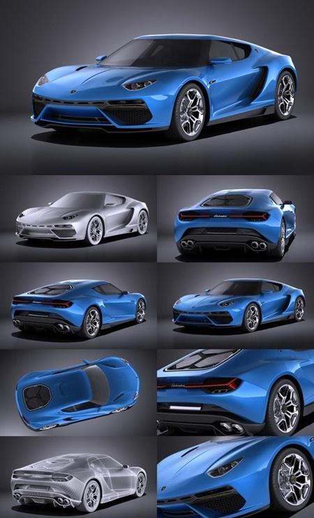 Lamborghini Asterion Concept 2017