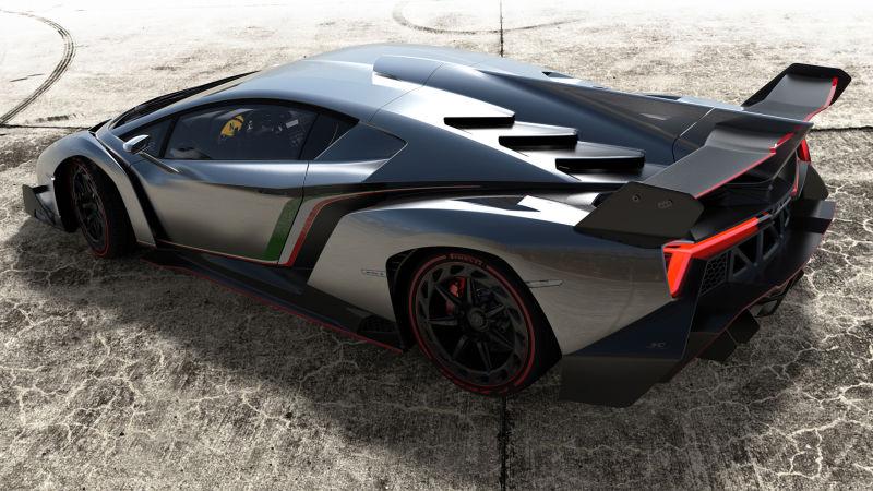 دانلود مدل سه بعدی لامبورگینی Lamborghini Veneno