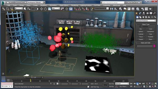Particle Flow in 3ds Max