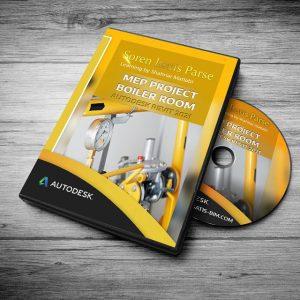 آموزش مدلسازی تاسیسات اقامتی به همراه موتورخانه