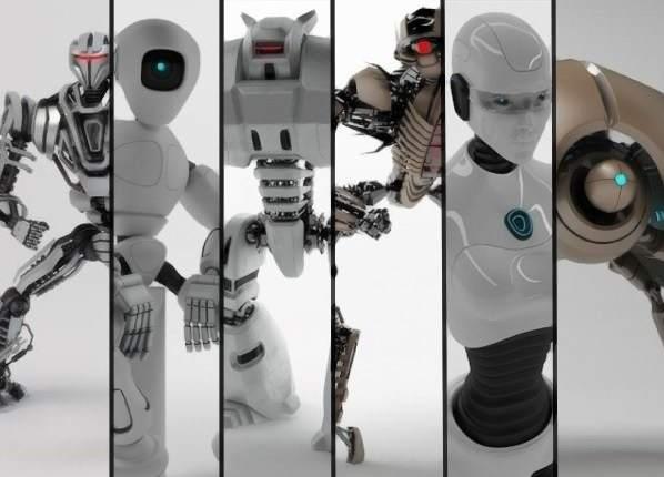 دانلود مدل سه بعدی ربات