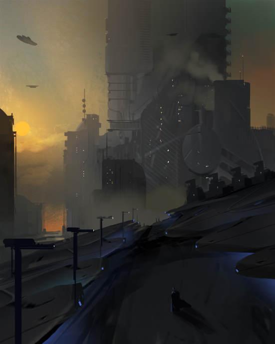 آموزش طراحی محیط Sci-fi Environment