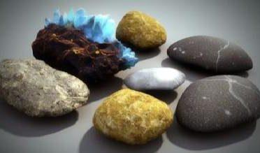 آموزش ساخت شیدر سنگ در مکس و وی ری