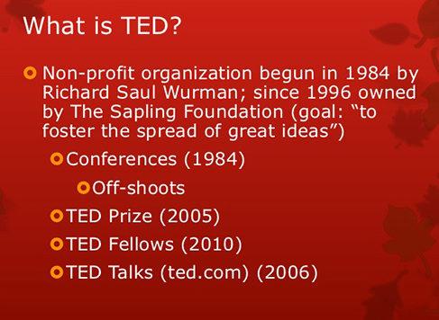 آشنایی با TED و ایده های نو