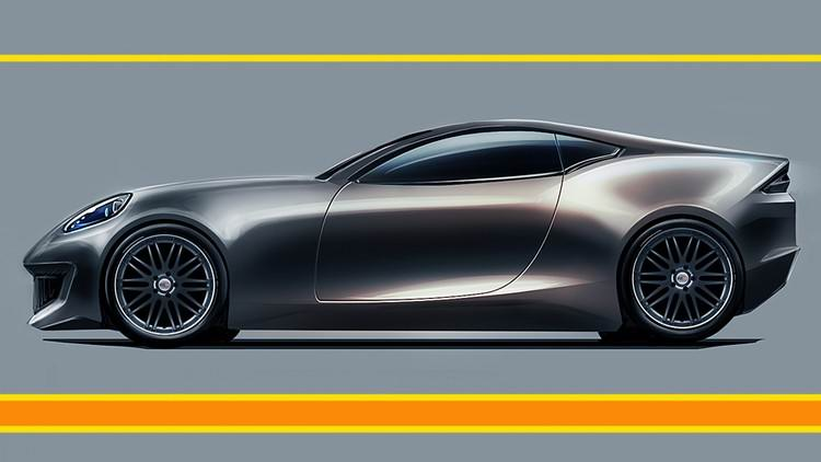 The Easy Way to Car Design Sketching in Photoshop.