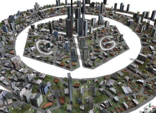آموزش مدلینگ شهر در تریدی مکس