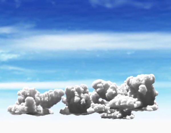 آموزش شبیه سازی ابر در تریدی مکس با پلاگین PHoenix FD