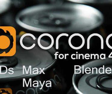 آموزش موتور رندر کرونا Corona