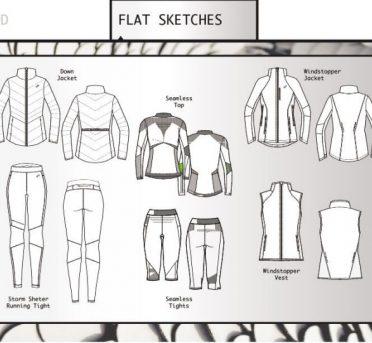 نمونه آثار طراحی لباس توسط Heather Moore